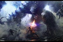 fantasy sci-fi futuristic