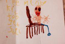 Fridge Art / Collection of cool kids art