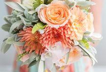 Wedding Colour | Coral and Sea Green