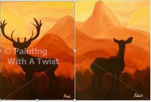 Painting with a twist / Paintings I like / by Amanda Crawford