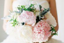 букет невесты, цветы подружек невесты