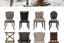 Tuolit, sohvat