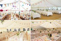 Wedding - long tables