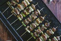 Ricette - Spiedini di carne o verdure