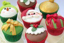 christmass cupcakes