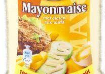 Sauces Mayonnaise / Les sauces pour frites sont des sauces typique belge servie traditionnellement avec les frites. Voici une sélection des meilleurs sauces. www.chockies.net