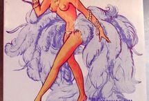 Burlesque bits ans bobs