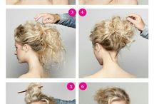 peinados rizado