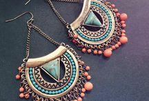 pendientes y anillos plata