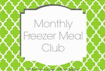 Freezer Ready Meals / by Tammy Kosinski