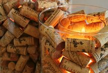 Wine bottles and corks / by Janet Ferguson