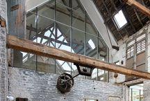 stodoły ruiny