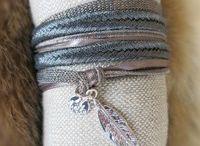 Bracelets by Garance Hiver 2015 / Bracelets manchettes by Garance  Collection automne hiver 2015