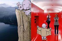 Orjinalleri Üzerine Çizim Yapılan 11 Yaratıcı Instagram Fotoğrafı / Brezilyalı illüstratör Lucas Levitan çok farklı bir çalışmaya imza atmış. Instagram'dan rastgele seçtiği fotoğraflar üzerine yaratıcı çizimler yaparak harikalar yaratıyor.