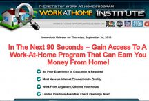 What is Work at Home Institute / What is Work at Home Institute? Find all about this program, try to avoid by any means, big scam