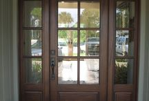 Front door Inspiration / Your front door is a focal point that is prime for self-expression. Make your front door Safe and inviting.