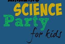 Science events for kids / Learning and play events, science night, science lock-in, science parties