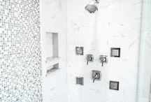 Cambria Quartz in master showers