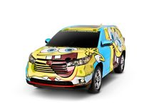 SpongeBob 2014 Highlander / Nickelodeon and Toyota are making this the best summer ever for SpongeBob fans with the creation of the first SpongeBob SquarePants-inspired vehicle. The SpongeBob 2014 Toyota Highlander will feature a custom SpongeBob-themed exterior and an interior design that captures all of the beloved character's high-octane energy. / by Toyota USA