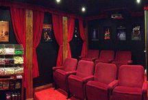 Theatre Cinema Room Kiwi Style!