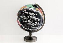 Globe and Maps