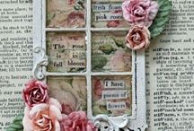 ♥Altered book pages♥
