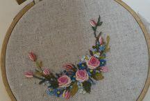 Bullion stitch embroidery I like