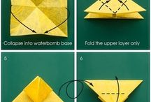 Origami craft step by step