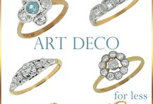 Antique & Vintage Engagement Rings / ME Jewellers collection  of the best vintage, antique & retro engagement rings including, Art Deco engagement rings.