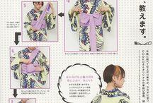 Kimono idea / Inspiring kimono portrait and some tips for wearing kimono. Also items for kimono. Kimono lover, Kimono, Japanese, wayoko, Etsy