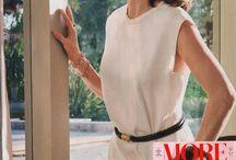 WHO is wearing Monica Rich Kosann