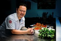 Chef Spotlight: Jet Tila / The Matfer Team had an exhilarating time with Executive/Celebrity Chef Jet Tila in Los Angeles watching him work his wok magic! See how his Chinese and Thai heritage influence his cooking as he created his famous and fabulous Drunken Noodles as well as luscious lobster using ideally matched Matfer tools.  More in our Chef Spotlight with Jet Tila > http://matferbourgeatusa.com/chef-spotlight-chef-jet-tila