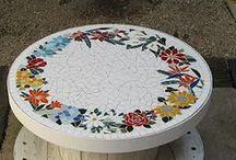 mosaicos e reciclagem