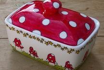 Ceramic Butter Dish