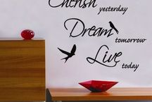 Great Wall Stickers & Decals / New Zealand made wall stickers - customs also available.