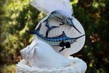 Fishing Themed Wedding Cake 3