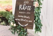 Invitations and Keepsakes / Wedding invitations, ceremony boards, bridal party gifts, and keepsakes from the big day!
