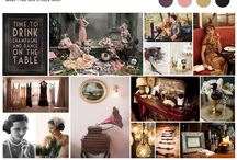 Adore Inspiration Boards / Here is a look at some of the inspirations boards that we use for our stylized shoots.