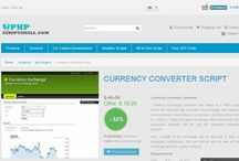 Currency Conversion Script / Currency Exchange Conversion is a PHP script which will automatically calculate the exchange rate between two currencies.