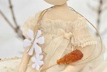 """MY FAVOURITE """" LOLA """" DOLLS les créations du jardin des Farfalous / Créations Cecile Farfalous"""