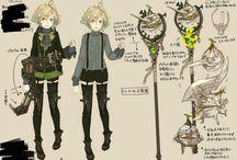 キャラクター デザイン