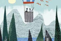 Hot air balloons and nature