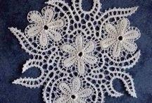 """Adornos para distintos elementos en """"Punto Crochet"""""""