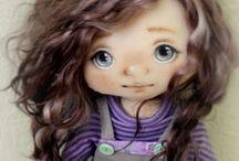 текстильн. кукла