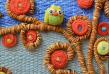 bordado com relevo