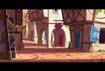 Tiny Thief (2013) / Visual development @ Rovio by Meryl Franck