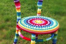 Cadeira de Crochet
