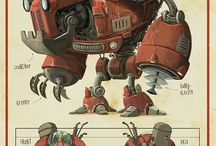 Robots and Mechas