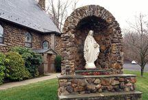 聖母マリア様の御像