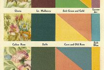 Paint, Paper, Fabric / Paint, wallpaper, decorating and upholstery fabrics. Many historic and vintage references.